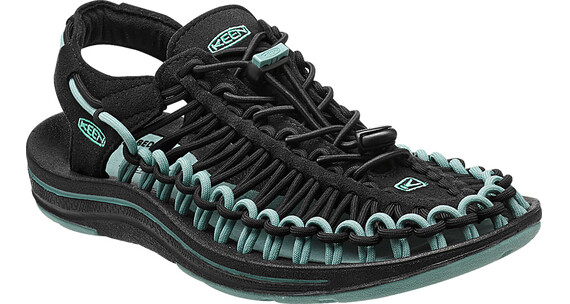 Keen W's Uneek Shoes Black/Mineral Blue